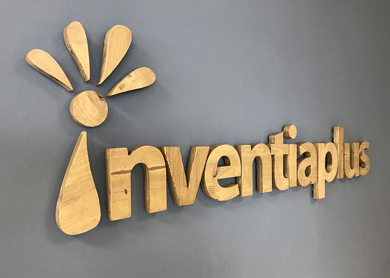 Trabajos sobre imagen corporativa Inventia Plus